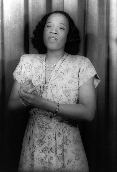 Camilla Williams. Photo by Carl Van Vechten, 1946.