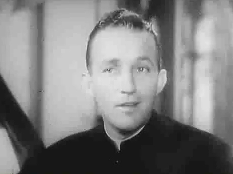 "Bing Crosby in ""The Bells of Saint Mary's"""